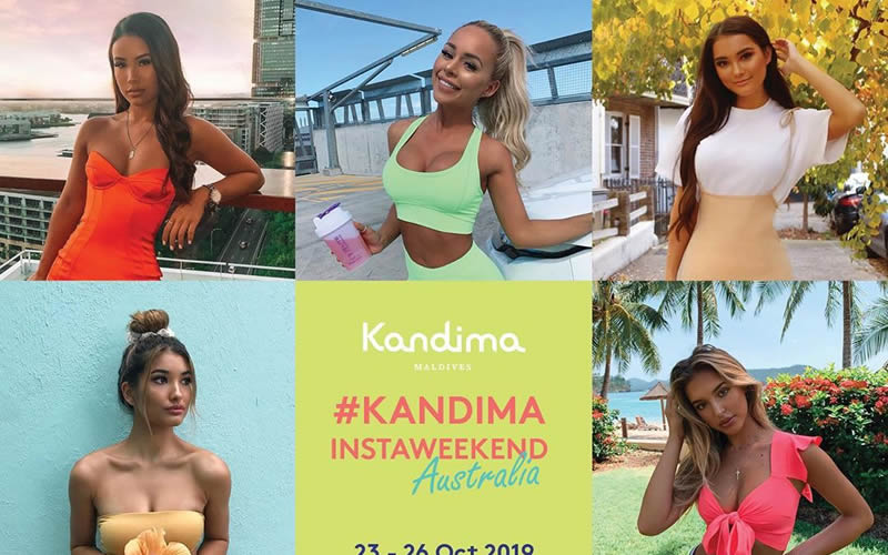 Kandima Maldives Revamps InstaWeekend Series