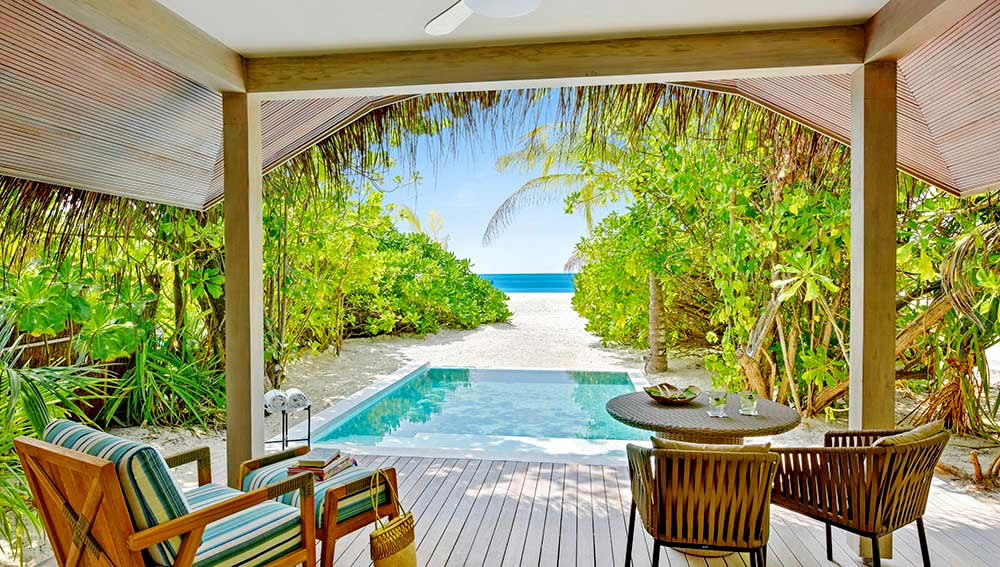 Kanuhura Maldives - Sunset Beach Pool Villa