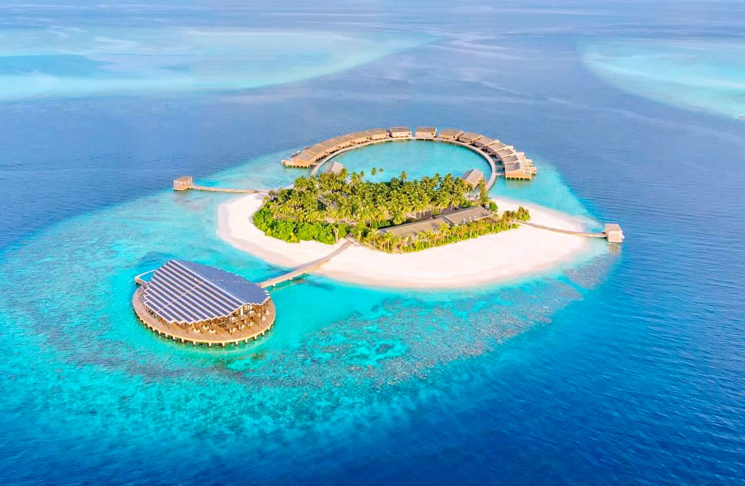 Kudadoo Maldives Private Island – Luxury All inclusive aerial