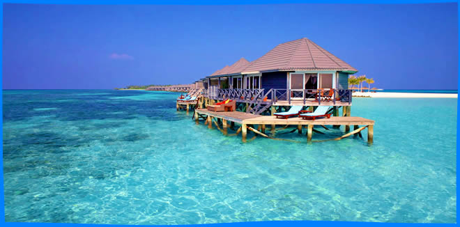 Kuredu Island Resort & Spa water villas with a view