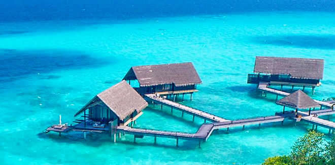 most Beautiful Lagoon in Maldives
