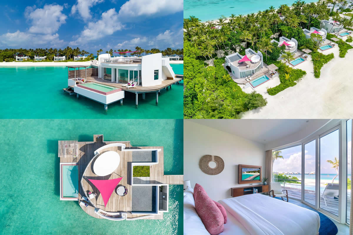 villas and residences at LUX* North Male Atoll