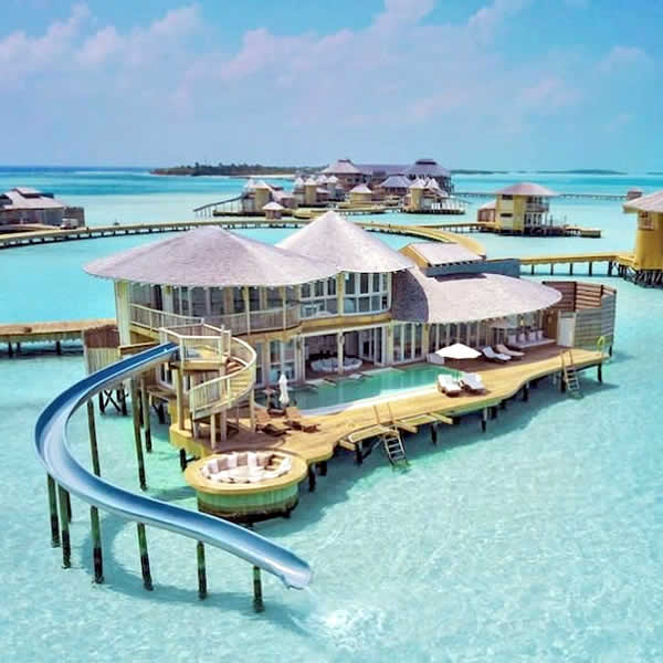 best water suites with ppol for honeymoon in maldives