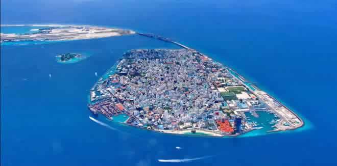 Malé town