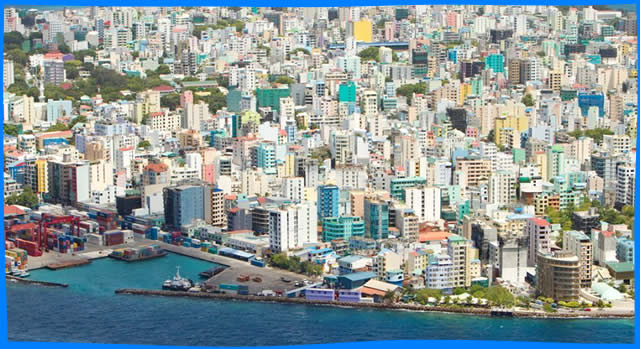 Malé City - Capital of the Maldives