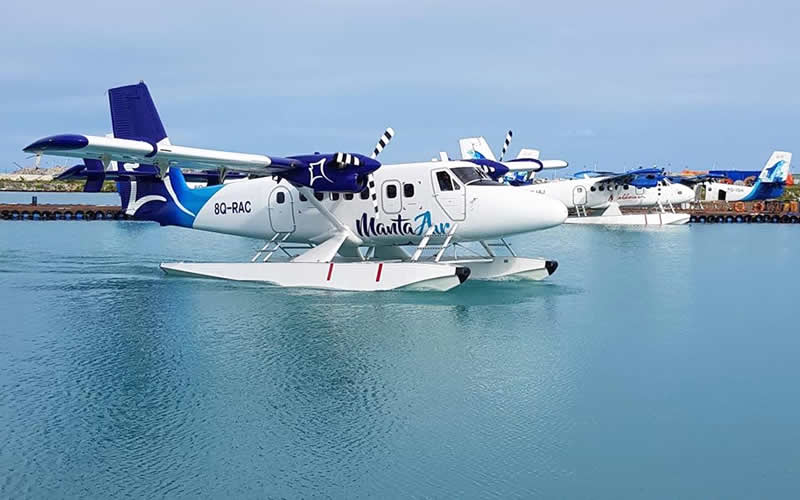 Manta Air Opens World's First Scheduled Seaplane Service
