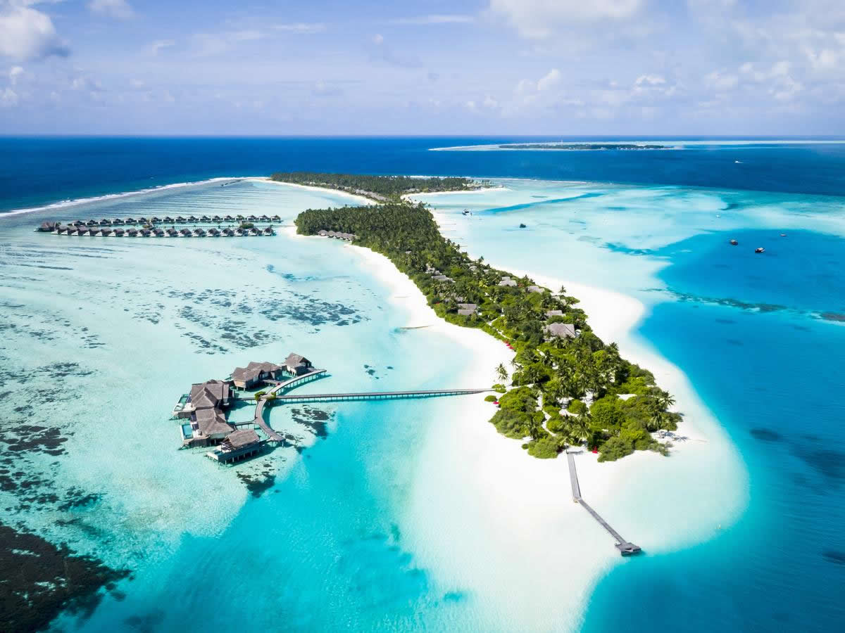 Niyama Private Islands Maldives aerial