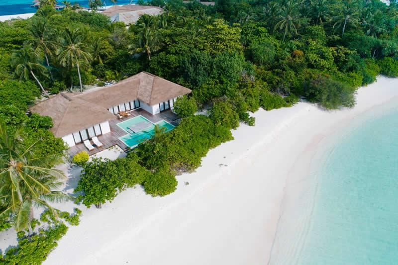 noku water pool villas