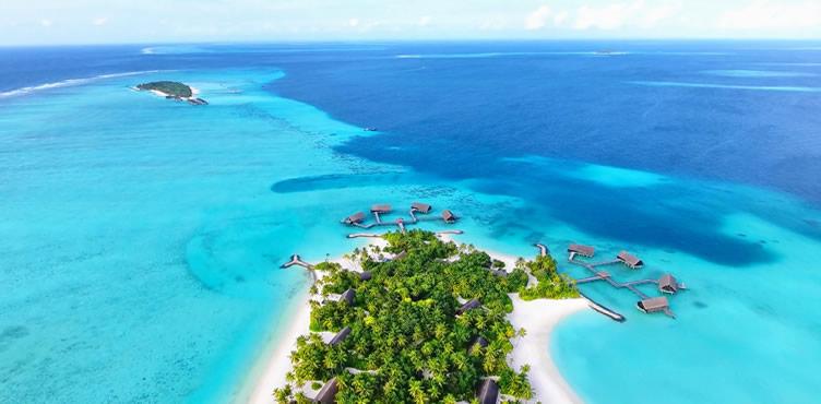 картинка фотография курорта Северный Мале, атолл на Мальдивах