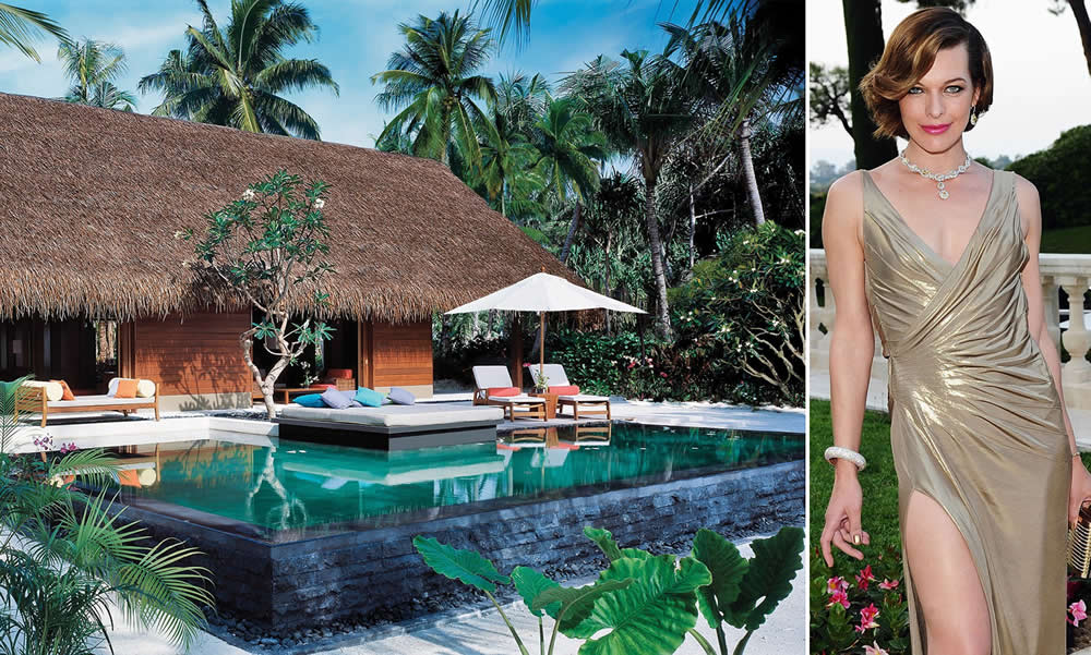 One & Only Reethi Rah with celebs