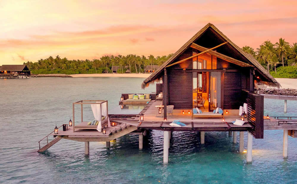 Best Honeymoon Over Water Suites in Maldives