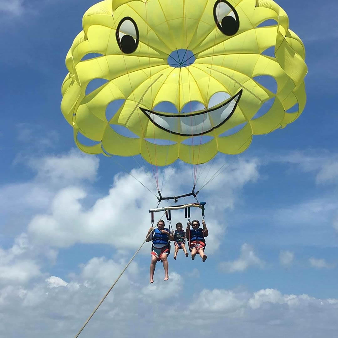 Parasailing: Enjoy a Water Sports  in the Maldives