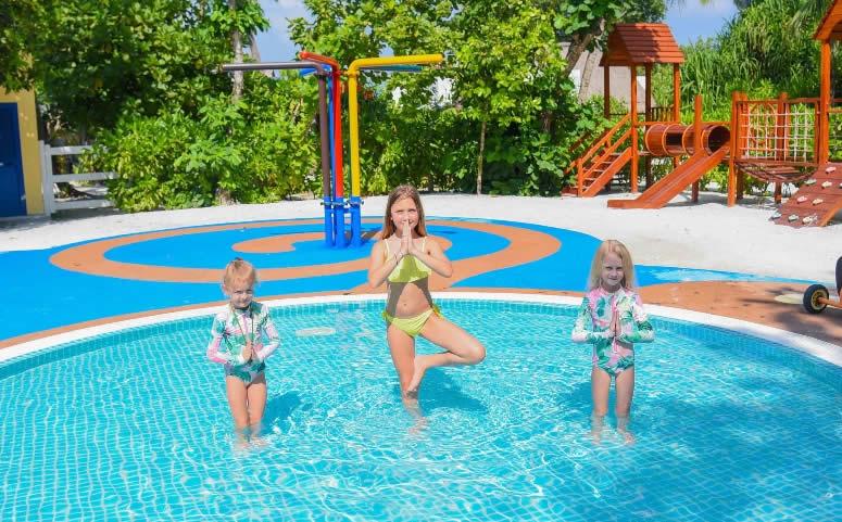 детский клуб в Emerald Maldives