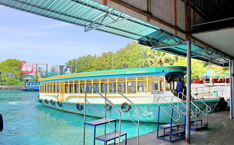 Dhangethi ferry transfer