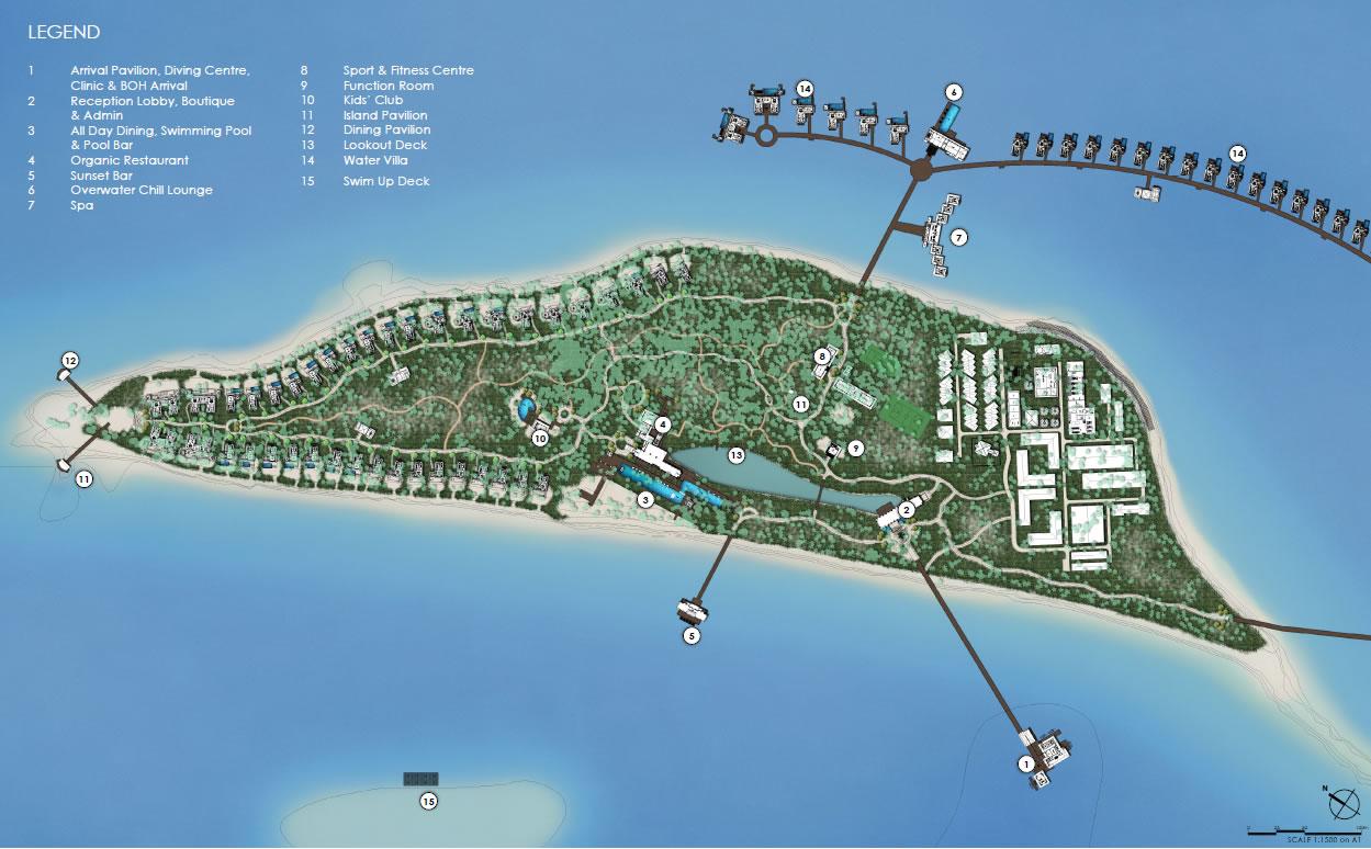 Pullman Maldives Maamutaa Resort Maldives Luxury Resort