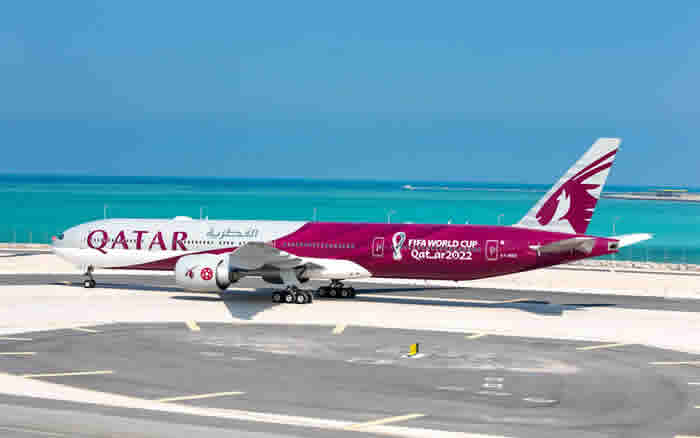Qatar Airways, b-777