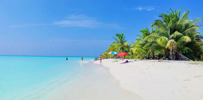 Nilandhoo is the largest and most populated island in the Faafu Atoll, Maldives.
