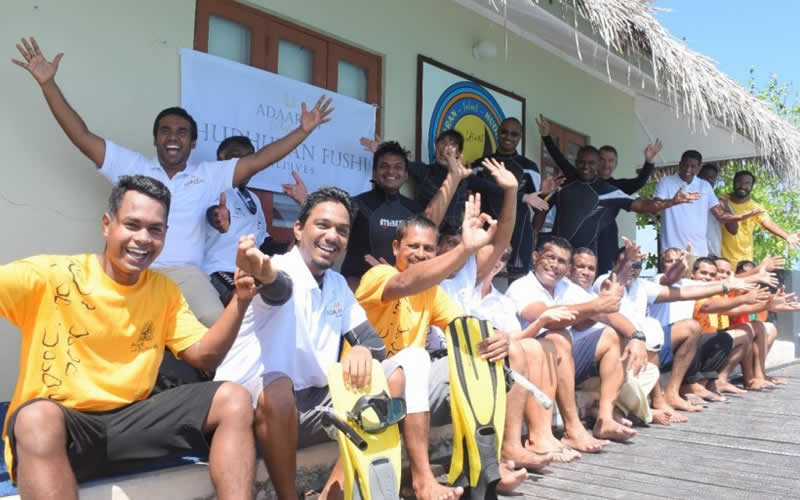 Adaaran Resorts Maldives Launches New Project: 'Save The LUNGS Save The OCEAN'