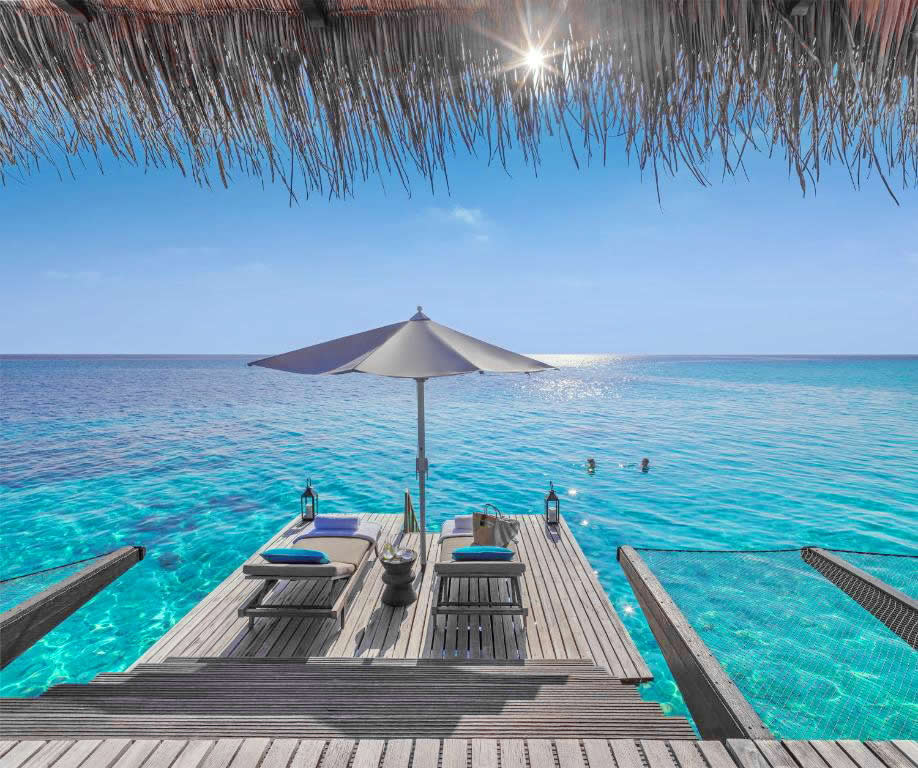 Piano Deck at Baros Maldives