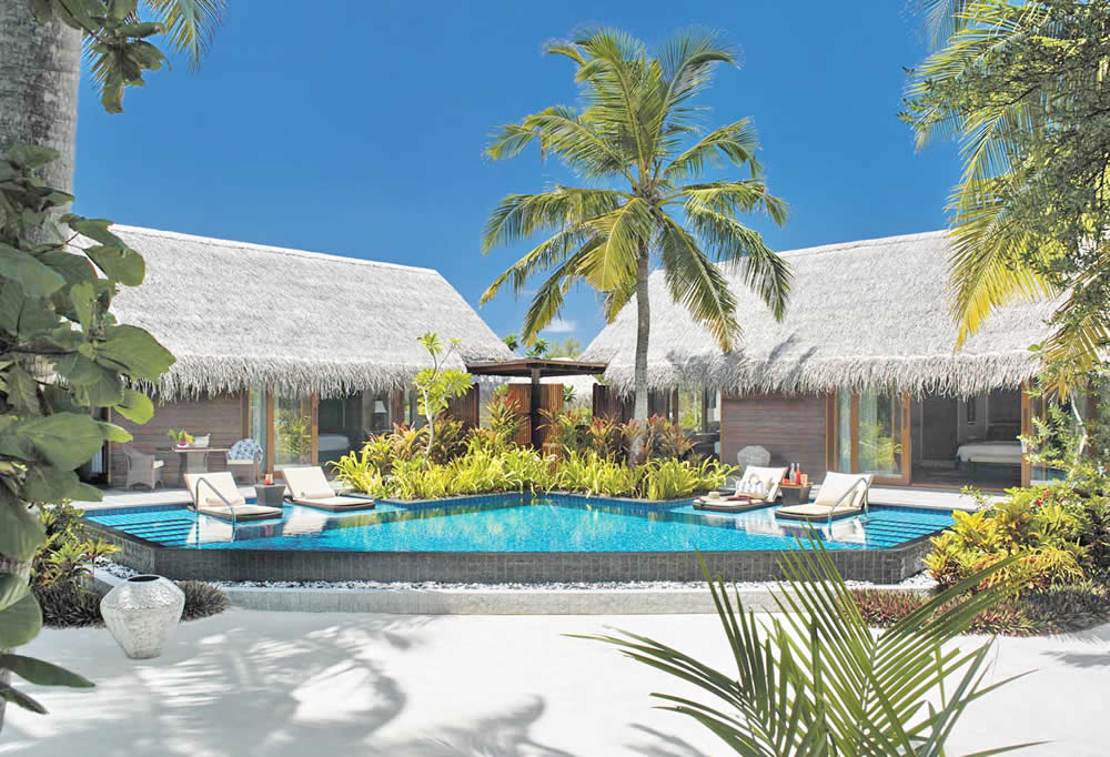 Shangri-La's Villingili Resort and Spa - One-Bedroom Beach Pool Villa