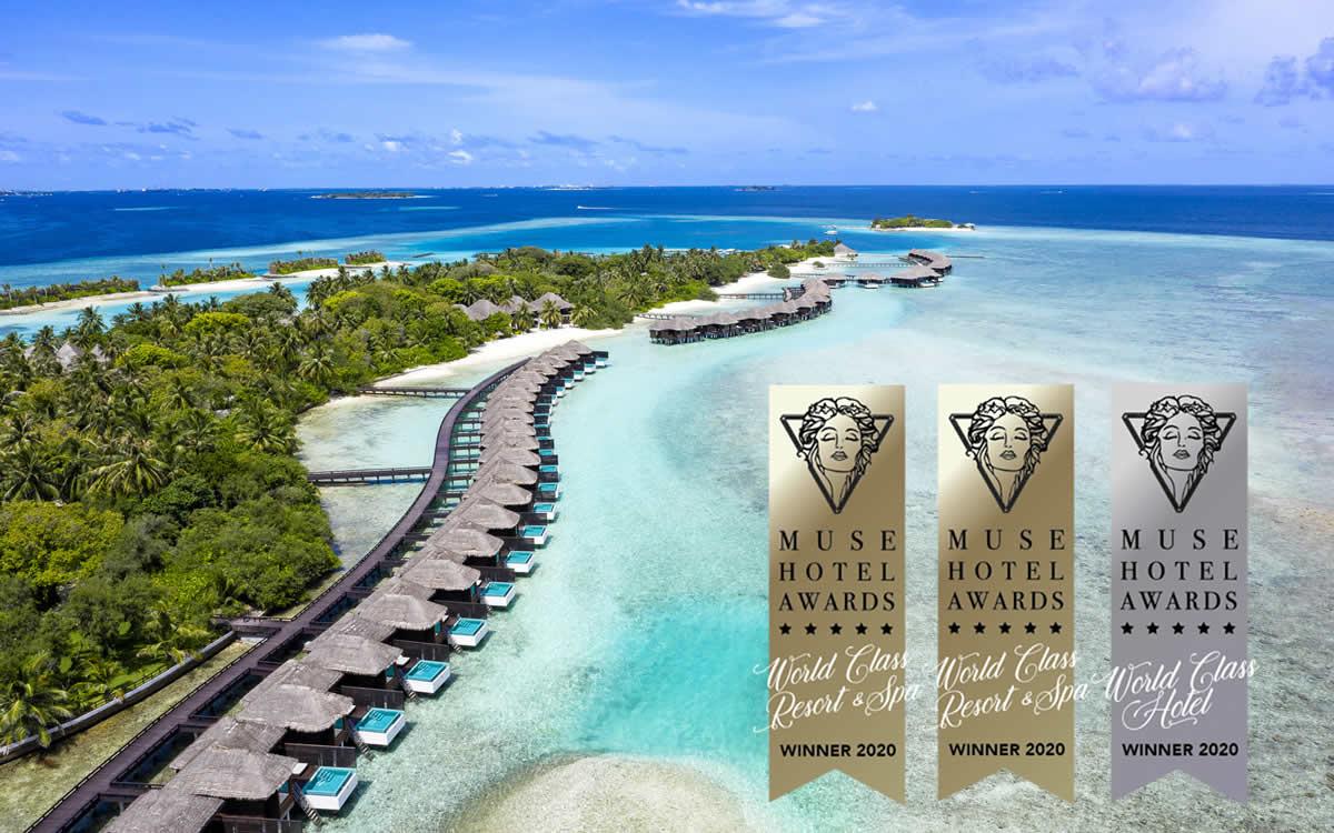 Sheraton Maldives Full Moon Resort & Spa Завоевал Тройную Награду