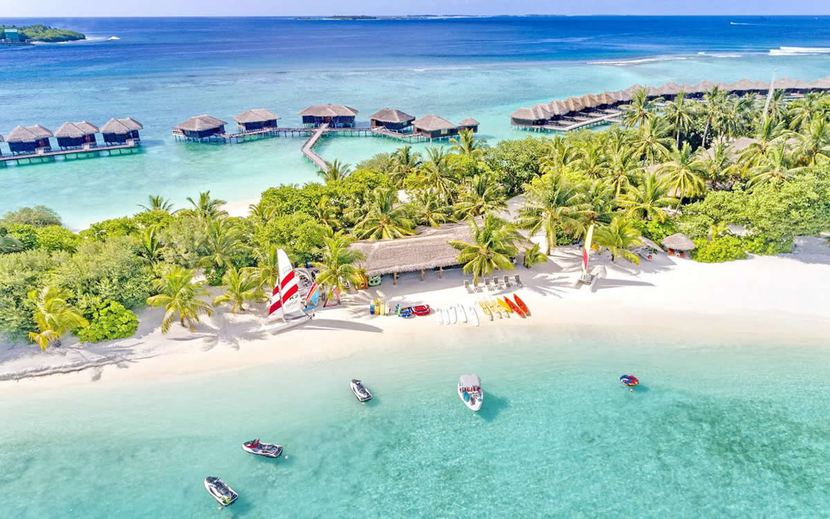 the Sheraton Maldives Full Moon Resort & Spa has now added to its offering by undergoing a $20 million revamp
