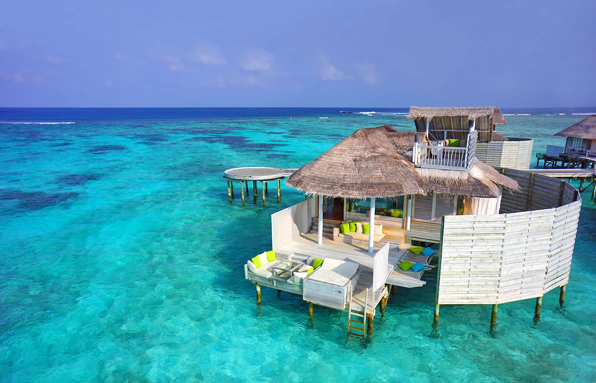 Six senses Laamu overwater bungalow