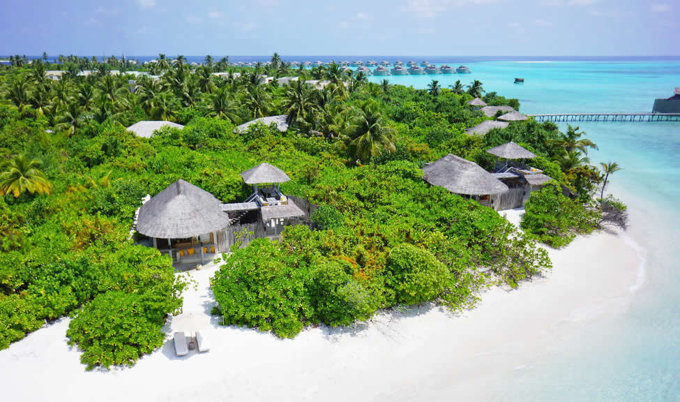 beach villa for couples