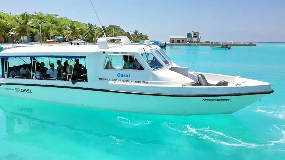 Keyodhoo speed boat transfer