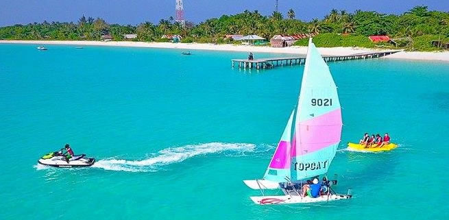 Water Sports in the Maldives