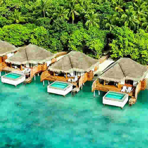 dusit Thani Maldives water pool villas
