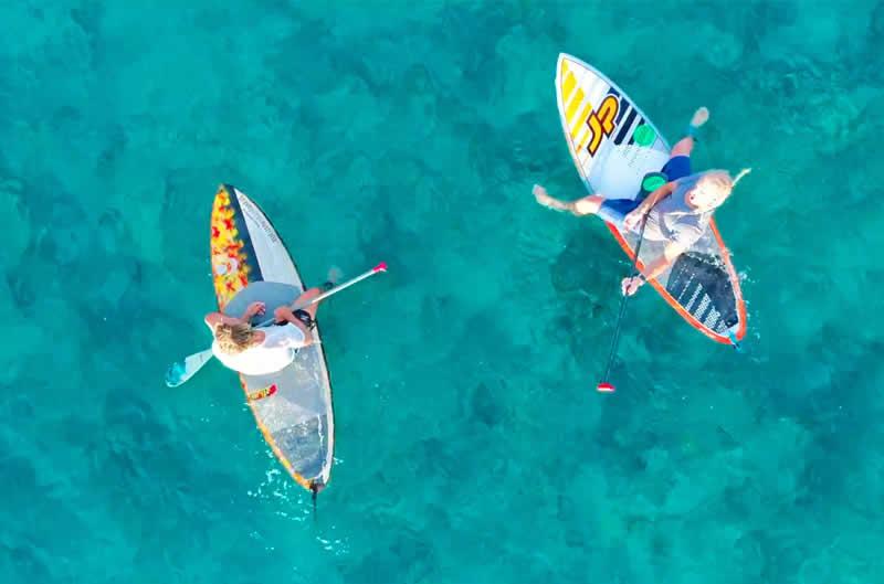 Water Sports at waldorf astoria maldives