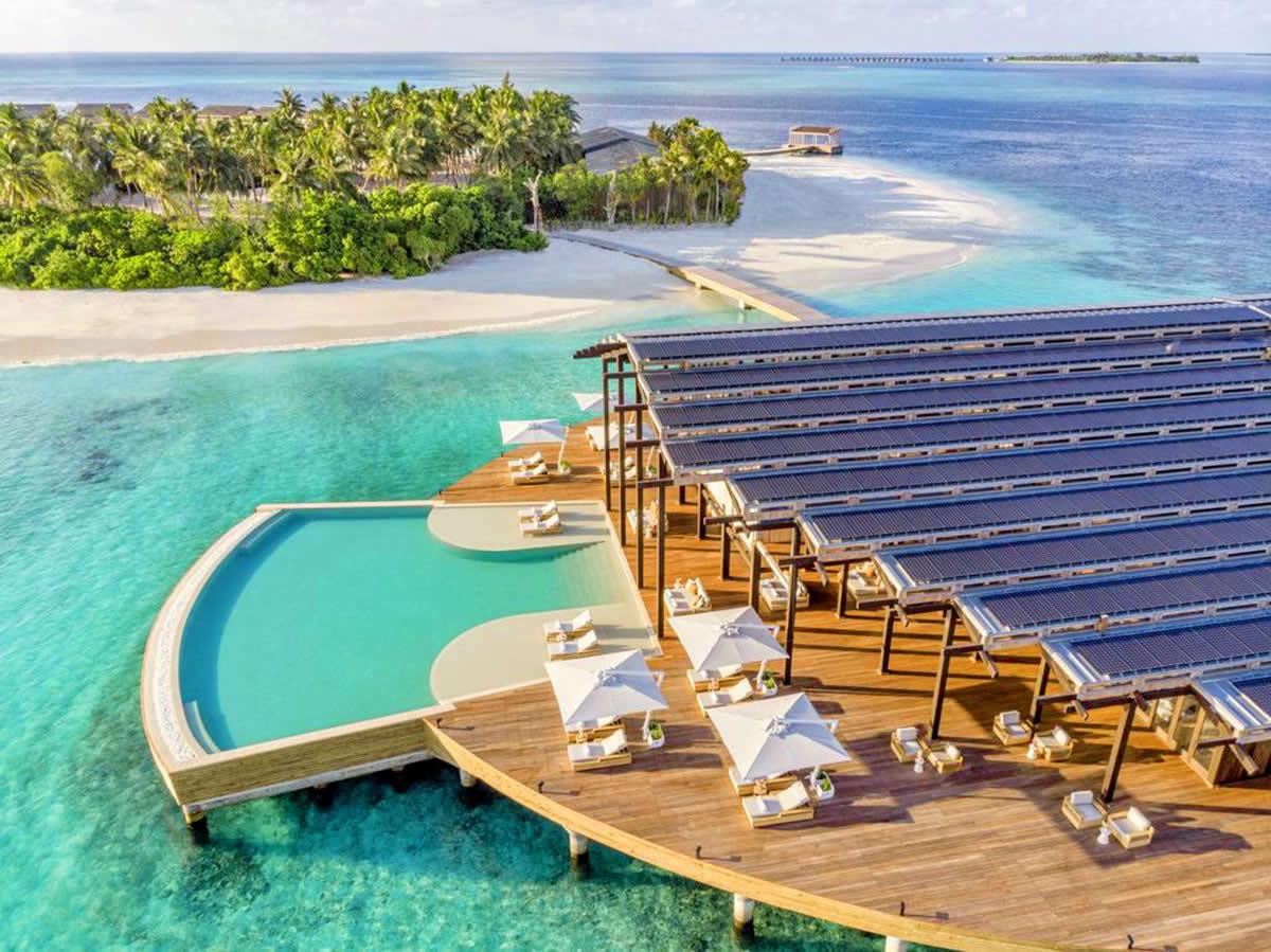 the reatreat at Kudadoo Maldives