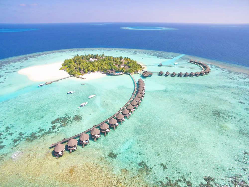 tulhagiri maldives aerial