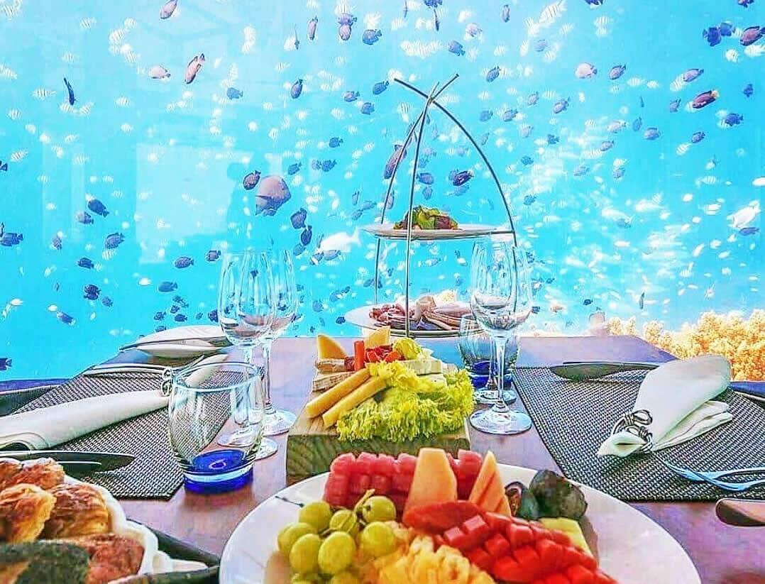 лучшие подводные рестораны на мальдивах