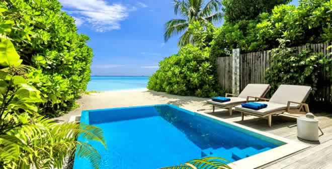 Most Popular Beach Pool Villas for Honeymoon in The Maldives