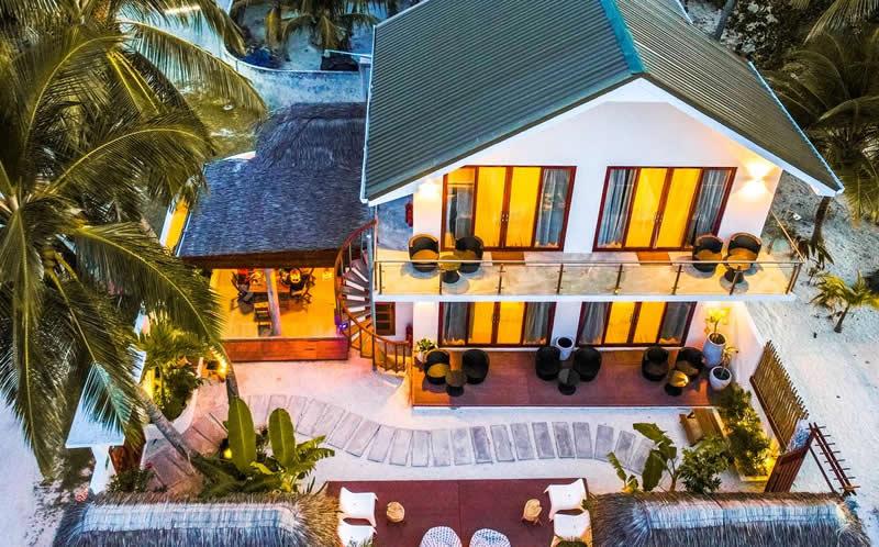 гостевой дом с частным пляжем
