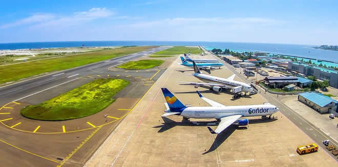 Velana International Airport, MLE