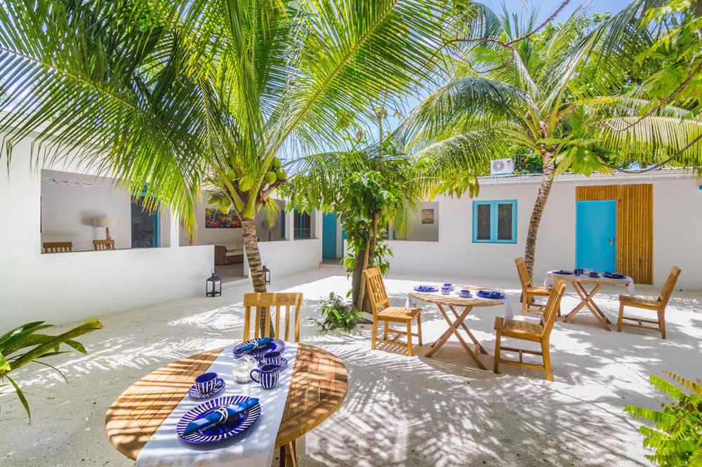 лучшие гостевые дома с часным пляжем на фериду, мальдивы
