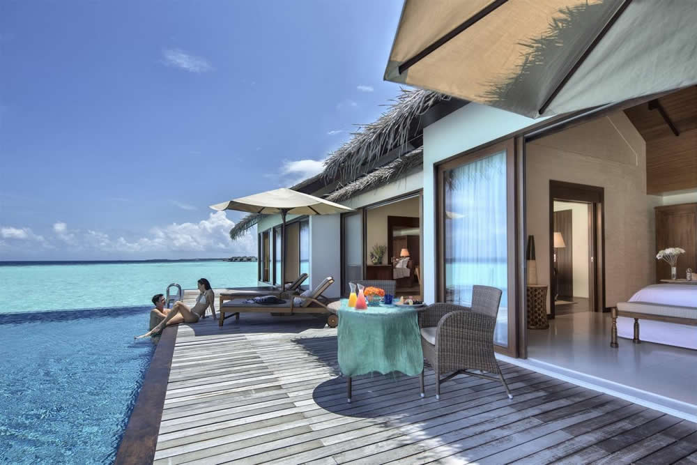 The Residence Maldives, water pool villa