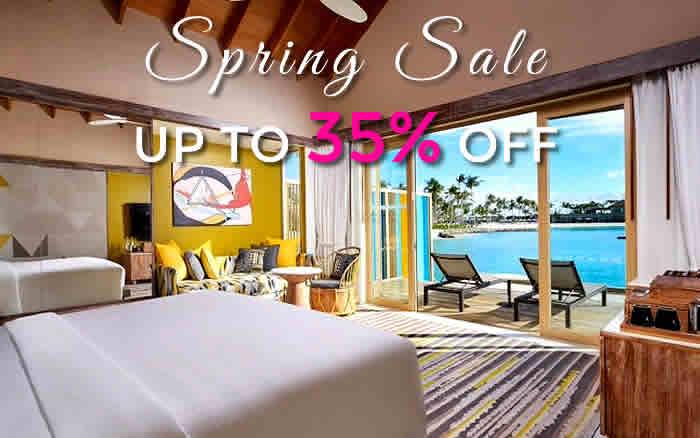 Hard Rock Hotel Maldives - скидка 30%  - спешите купить