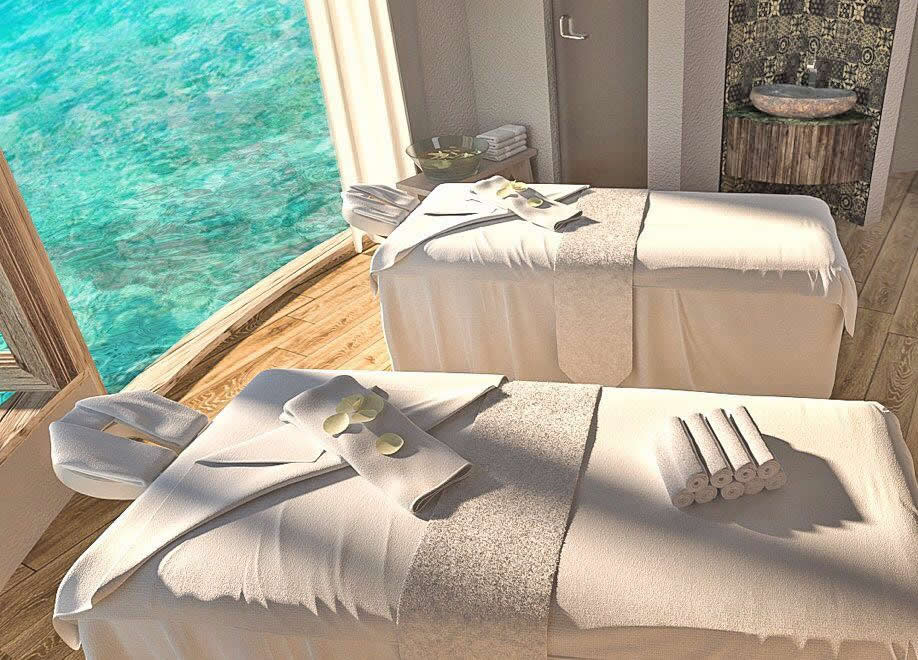over-water spa maldives